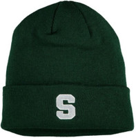 Michigan State University Top of the World Men's Dozit Cuffed Knit Hat