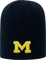 University of Michigan Top of the World Men's Dozit Uncuffed Knit Hat