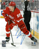 Tyler Bertuzzi Autographed Detroit Red Wings 8x10 Photo #7