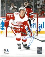 Tyler Bertuzzi Autographed Detroit Red Wings 8x10 Photo #8