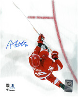 Anthony Mantha Autographed Detroit Red Wings 8x10 Photo #10