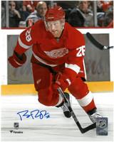 Brian Rafalski Autographed Detroit Red Wings 8x10 Photo #1