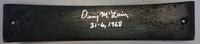 "Denny McLain Autographed Tiger Stadium Seat Slat w/ ""31-6, 1968"""