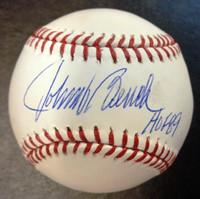 "Johnny Bench Autographed Official Major League Baseball w/ ""HOF 89"""