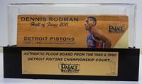 Dennis Rodman Palace of Auburn Hills Floor Slat with Case