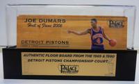 Joe Dumars Palace of Auburn Hills Floor Slat with Case