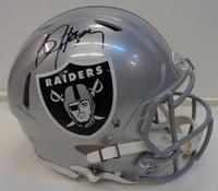 Bo Jackson Autographed Oakland Raiders Full Size Speed Authentic Helmet