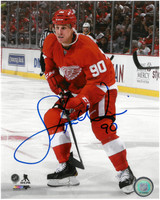 Stephen Weiss Autographed Detroit Red Wings 8x10 Photo