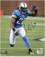 Louis Delmas Autographed Detroit Lions 8x10 Photo #1