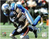 Louis Delmas Autographed Detroit Lions 8x10 Photo #2