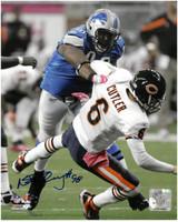 Nick Fairley Autographed Detroit Lions 8x10 Photo #1