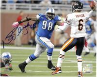 Nick Fairley Autographed Detroit Lions 8x10 Photo #2