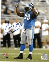 Corey Williams Autographed Detroit Lions 8x10 Photo #2