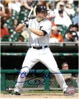 Casper Wells Autographed Detroit Tigers 8x10 Photo