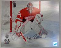 Petr Mrazek Autographed Detroit Red Wings 16x20 Photo