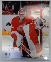 Jimmy Howard Autographed Detroit Red Wings 16x20 Photo #2