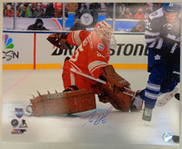 Jimmy Howard Autographed Detroit Red Wings 16x20 Photo #3