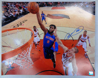 Andre Drummond Autographed Detroit Pistons 16x20 Photo #2