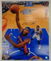 Andre Drummond Autographed Detroit Pistons 16x20 Photo #3