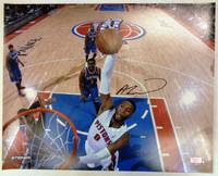 Andre Drummond Autographed Detroit Pistons 16x20 Photo #4