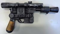 Harrison Ford Star Wars Autographed Empire Strikes Back DL-44 Blaster Gun - Hans Solo (Copper Handle)