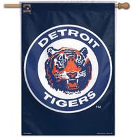 "Detroit Tigers Wincraft Retro Logo 28""x40"" House Flag"