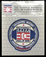 National Baseball Hall of Fame Patch