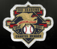AL 100 Seasons Charter Member Collector Patch