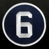 Detroit Tigers Al Kaline #6 Memorial Patch - Regular Season Home