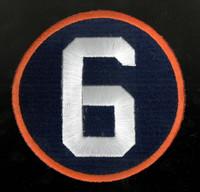 Detroit Tigers Al Kaline #6 Memorial Patch - Regular Season Road