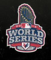 2012 MLB World Series Hat Patch