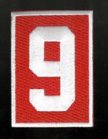 Detroit Red Wings Gordie Howe #9 Memorial Patch