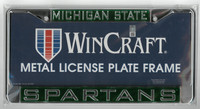 Michigan State University Wincraft Metal License Plate Frame