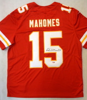 Patrick Mahomes Autographed Kansas City Chiefs Nike Elite Jersey - Red
