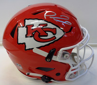 Patrick Mahomes Autographed Riddell Kansas City Chiefs Full Size Authentic Speed Flex Helmet