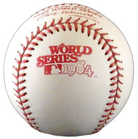 "Kirk Gibson Autographed Baseball - Official 1984 World Series Ball w/""84 WSC"" (Pre-Order)"