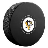 Bryan Trottier Autographed Pittsburgh Penguins Souvenir Puck (Pre-Order)