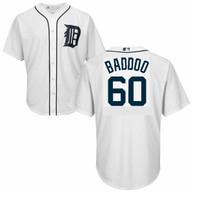 Detroit Tigers Majestic Home Replica Cool Base Jersey - Akil Baddoo #60