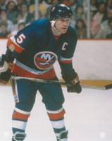 Denis Potvin Autographed 8x10 Islanders #1 - Blue Jersey (Pre-Order)