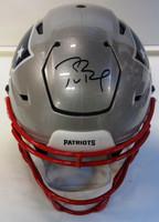 Tom Brady Autographed New England Patriots Authentic Speedflex Full Size Helmet