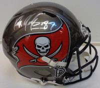 Rob Gronkowski Autographed Tampa Bay Buccaneers Authentic Speed Full Size Helmet