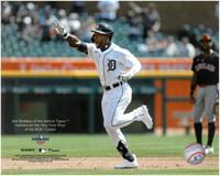 Akil Baddoo 1st MLB Career Home Run Fanatics 8x10 Photo