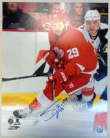 Steve Ott Autographed Detroit Red Wings 16x20 Photo #2