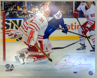 Jared Coreau Autographed Detroit Red Wings 16x20 Photo #1