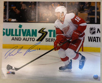Robbie Russo Autographed Detroit Red Wings 16x20 Photo