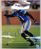 Eric Wright Autographed Detroit Lions 16x20 Photo