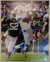 Eric Ebron Autographed Detroit Lions 16x20 Photo
