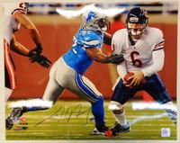 Cliff Avril Autographed Detroit Lions 16x20 Photo #1