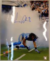 Louis Delmas Autographed Detroit Lions 16x20 Photo #3