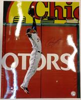 Austin Jackson Autographed Detroit Tigers 16x20 Photo #2